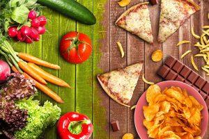 healthy vs unhealthy_lassedesignen från Shutterstock
